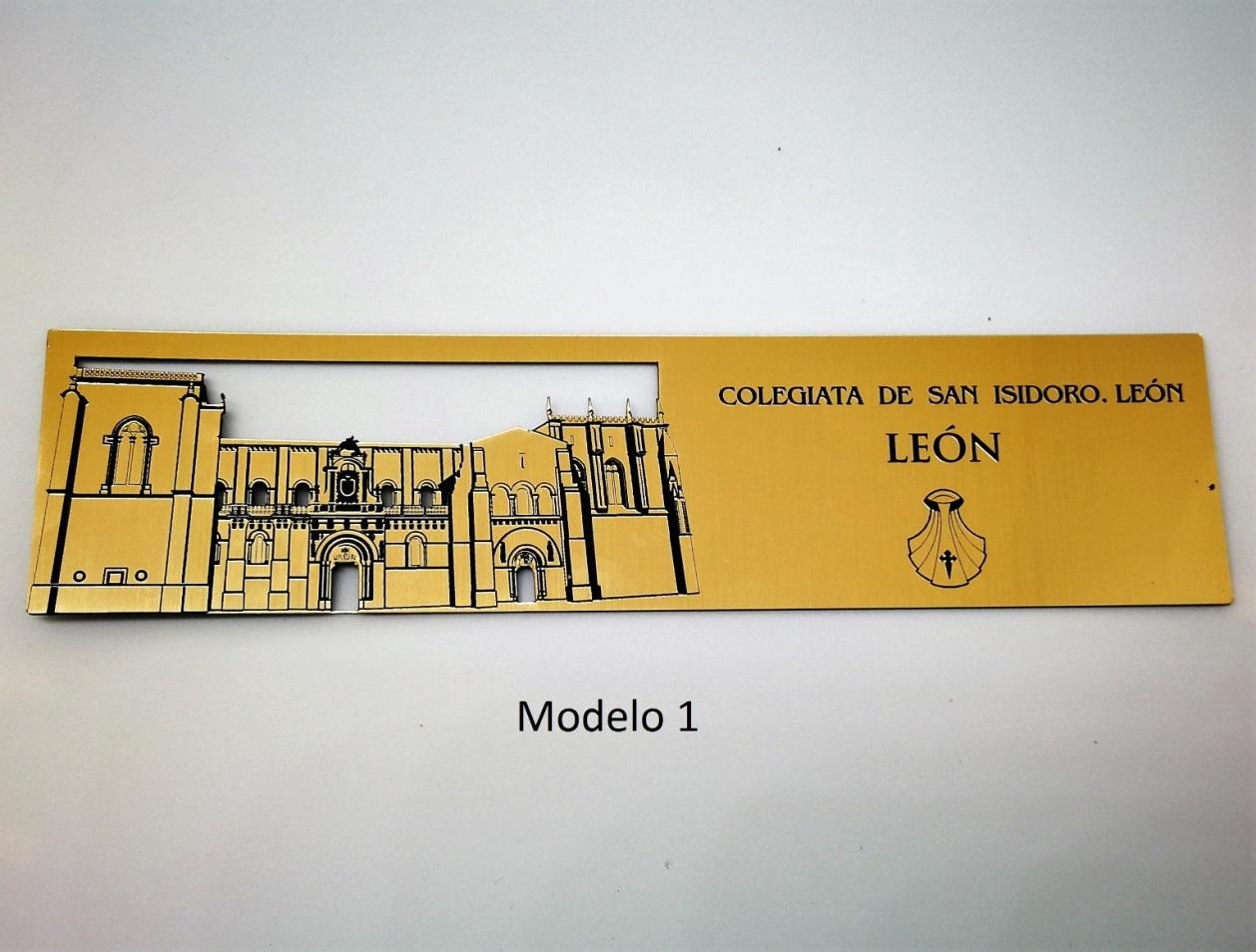 Marcapáginas San Isidoro. León (modelo 1)