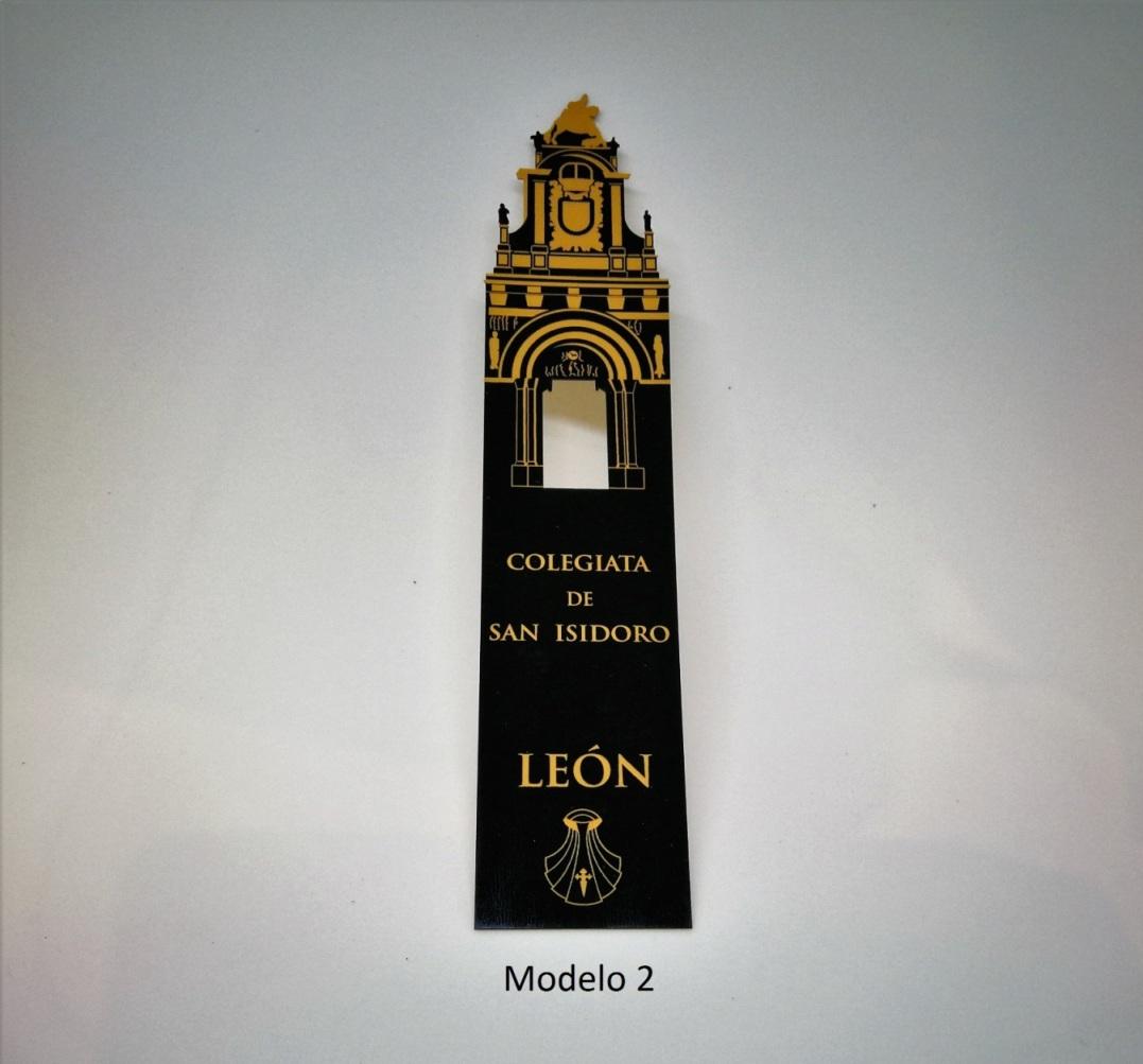 Marcapáginas San Isidoro. León (modelo 2)